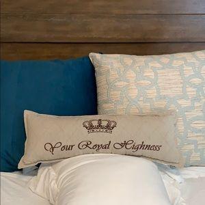✨B1G1✨Your Royal Highness Throw Pillow